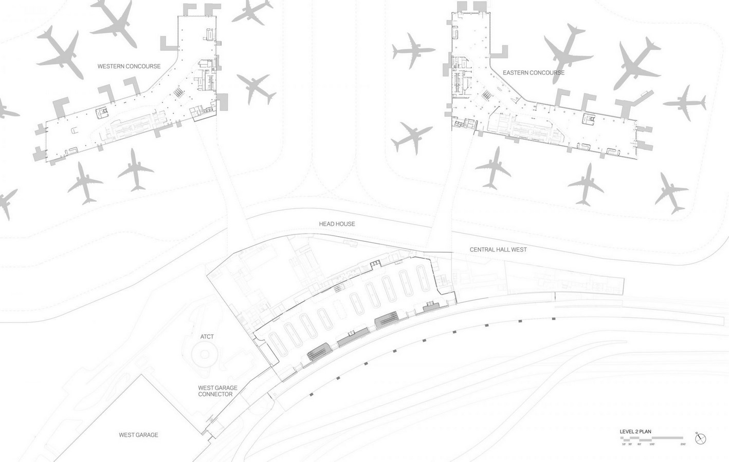 LaGuardia Airport by HOK: Advanced for it's time yet criticized - Sheet5