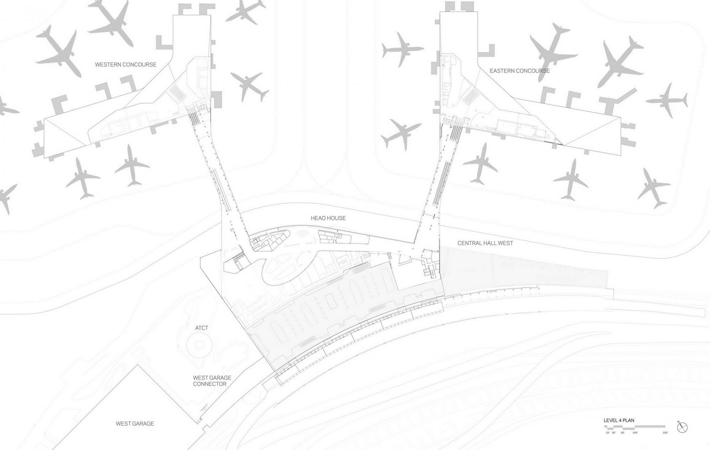 LaGuardia Airport by HOK: Advanced for it's time yet criticized - Sheet7