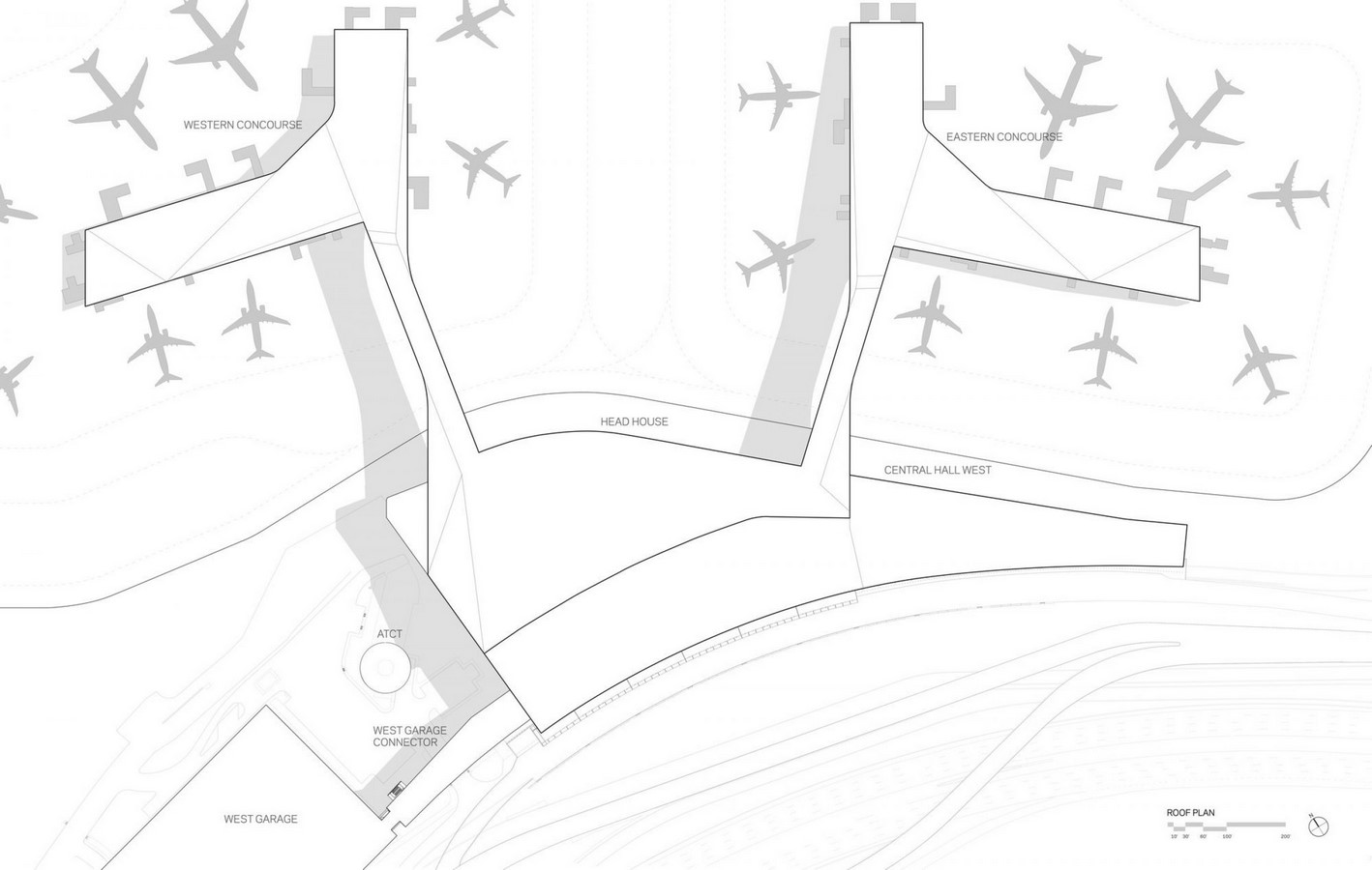 LaGuardia Airport by HOK: Advanced for it's time yet criticized - Sheet8