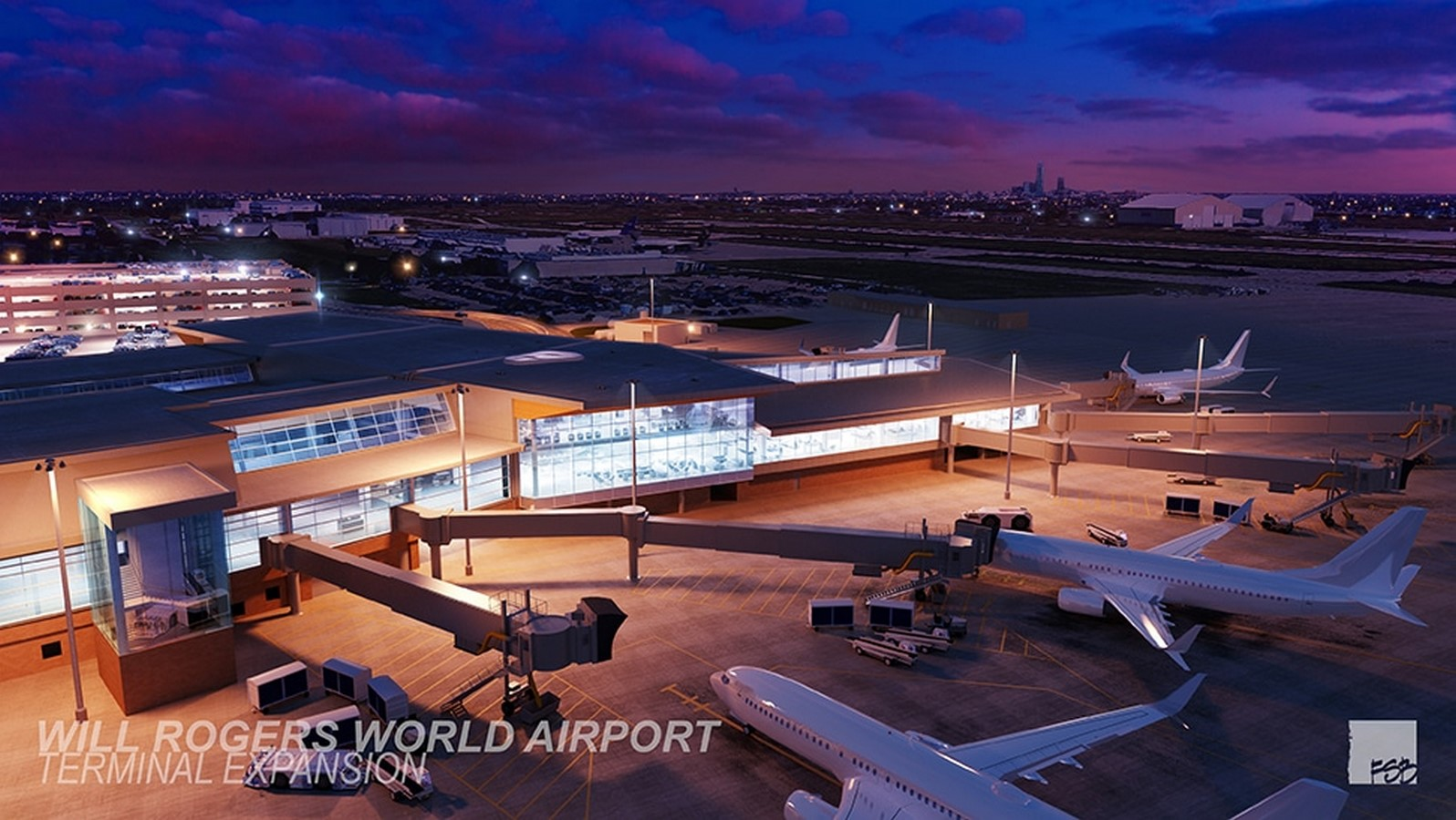 Will Rogers World Airport: Heading Forward - Sheet2