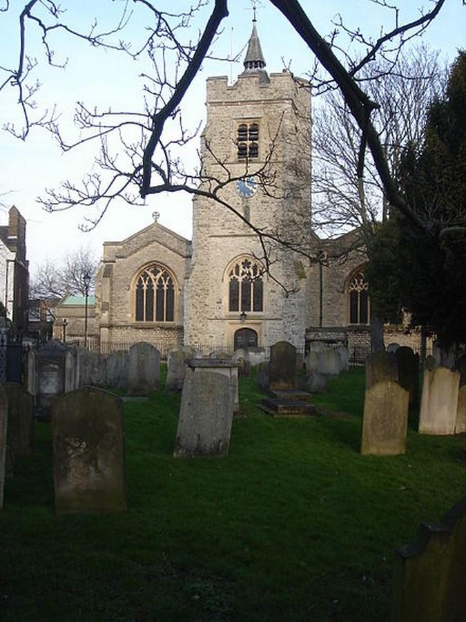 St Nicholas Church, Chiswick - Sheet1
