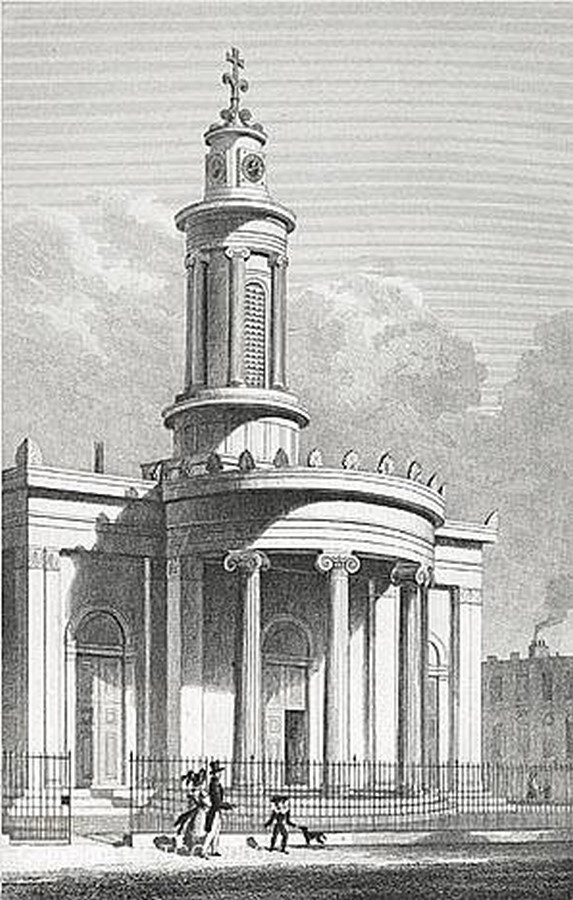 All Saints Cathedral, Camden Town (Greek Orthodox Cathedral Church of All Saints) - Sheet1