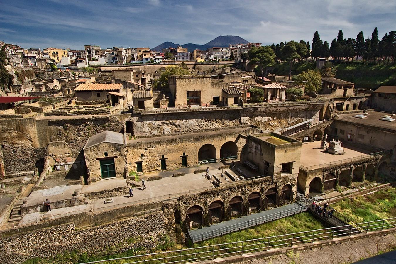 Herculaneum /Ercolano/, Campania, near Naples - Sheet1