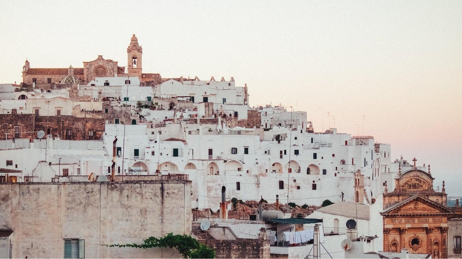 Ostuni, Puglia, region of Apulia; The White City - Sheet1