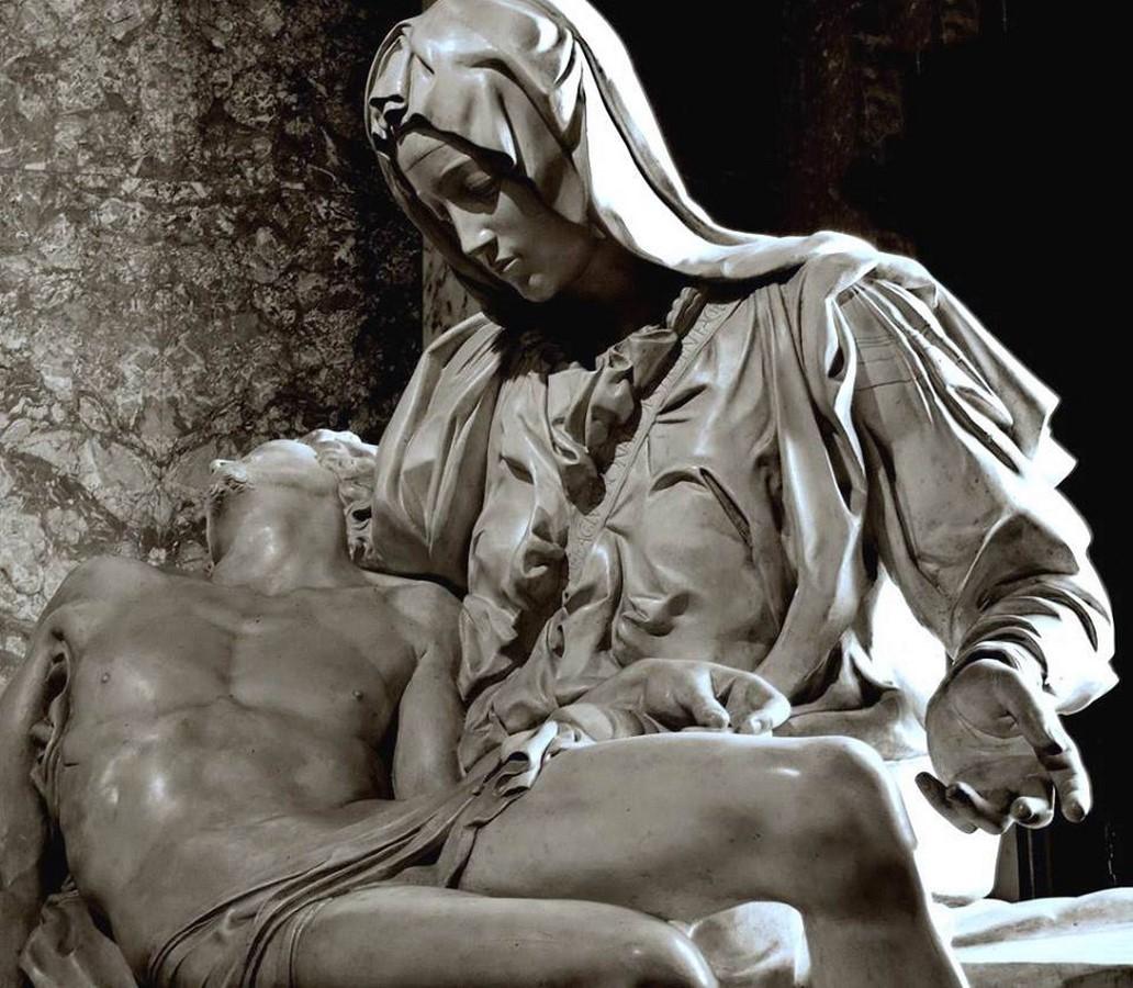 The Pietà by Michelangelo, St. Peter's Basilica, Vatican City - Sheet2