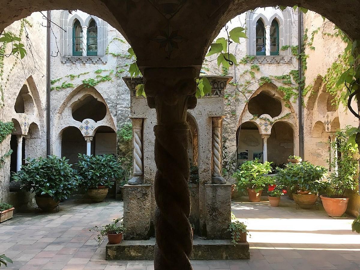 Villa Cimbrone, Ravello, southern Italy - Sheet3