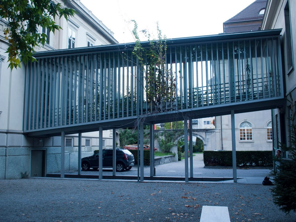 Art Museum, Chur, Graubünden, Switzerland (1990) - Sheet1