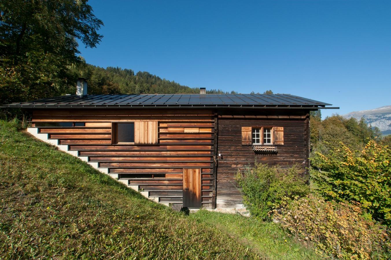 Gugalun House, Versam, Switzerland (1994) - Sheet1