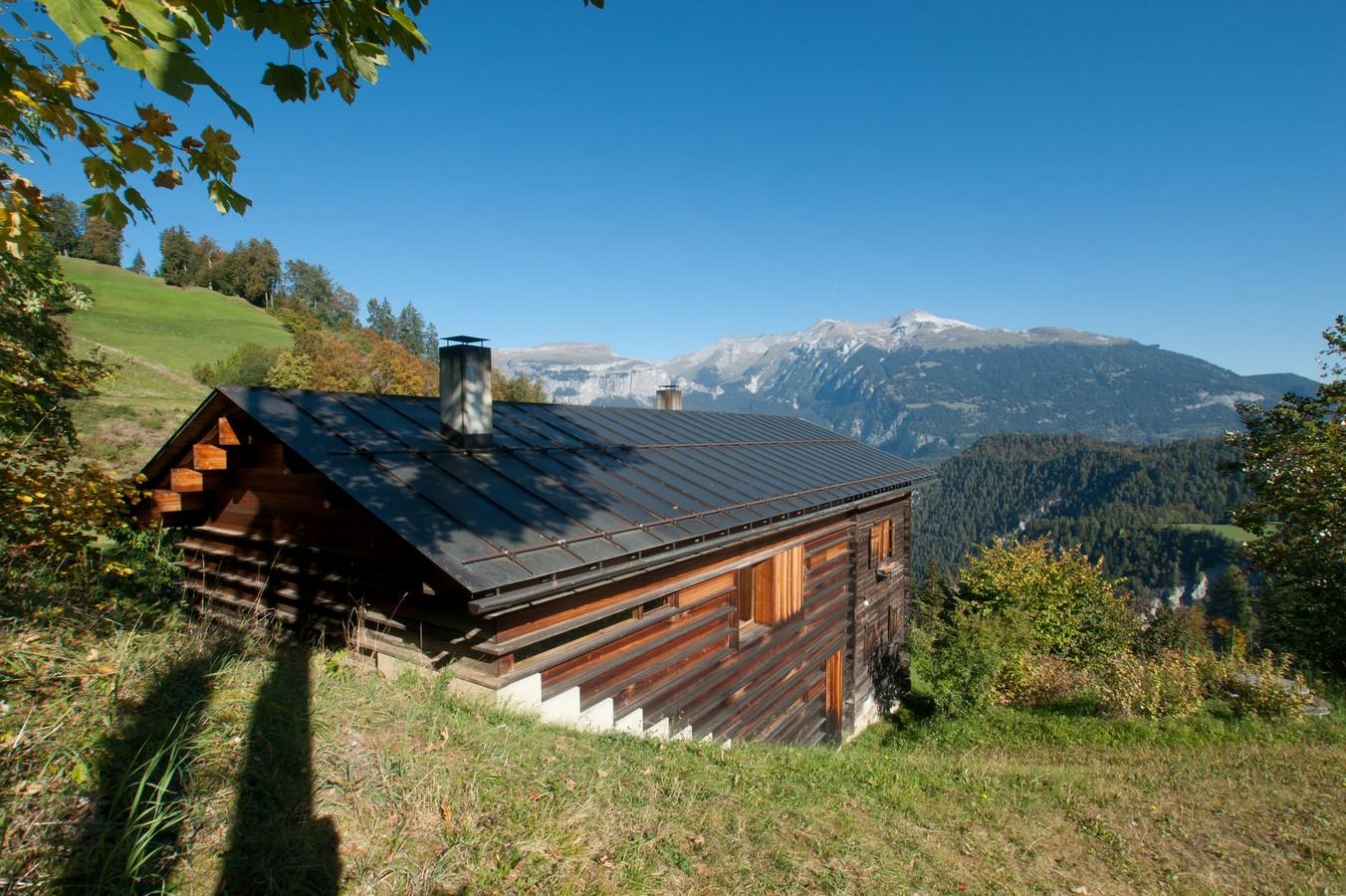 Gugalun House, Versam, Switzerland (1994) - Sheet2