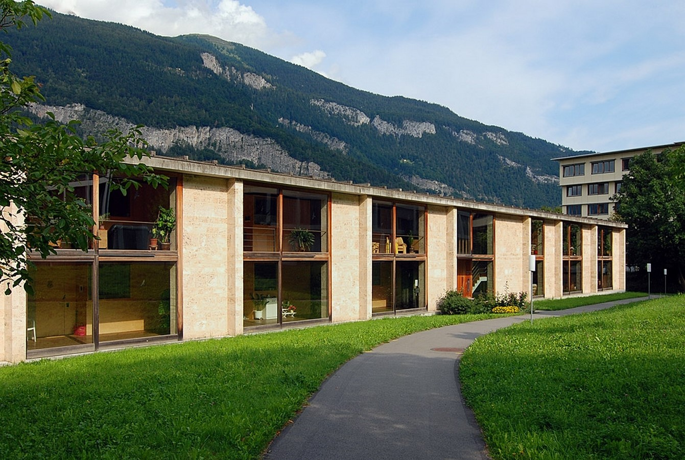 Home for Senior Citizens, Chur, Switzerland (1993) - Sheet1