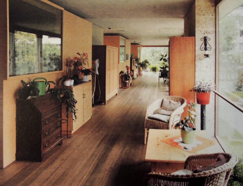 Home for Senior Citizens, Chur, Switzerland (1993) - Sheet3