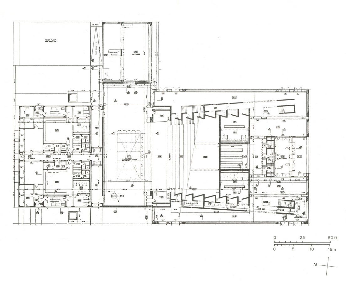 Arts United Centre by Louis I. Kahn: Under one roof - Sheet2