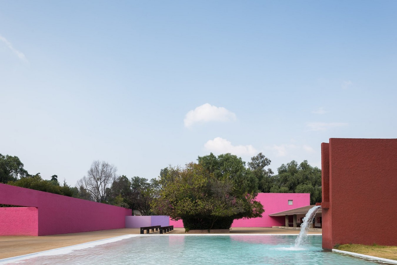"""""""Equestrian Trilogy"""" - Cuadra San Cristóbal, Mexico by Luis Barragán: Geometry, Nature and Architecture - Sheet1"""