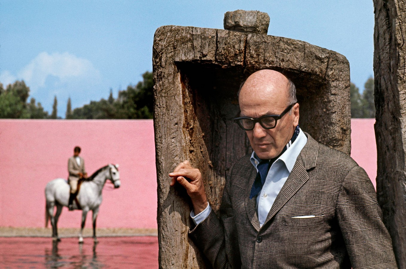 """""""Equestrian Trilogy"""" - Cuadra San Cristóbal, Mexico by Luis Barragán: Geometry, Nature and Architecture - Sheet2"""