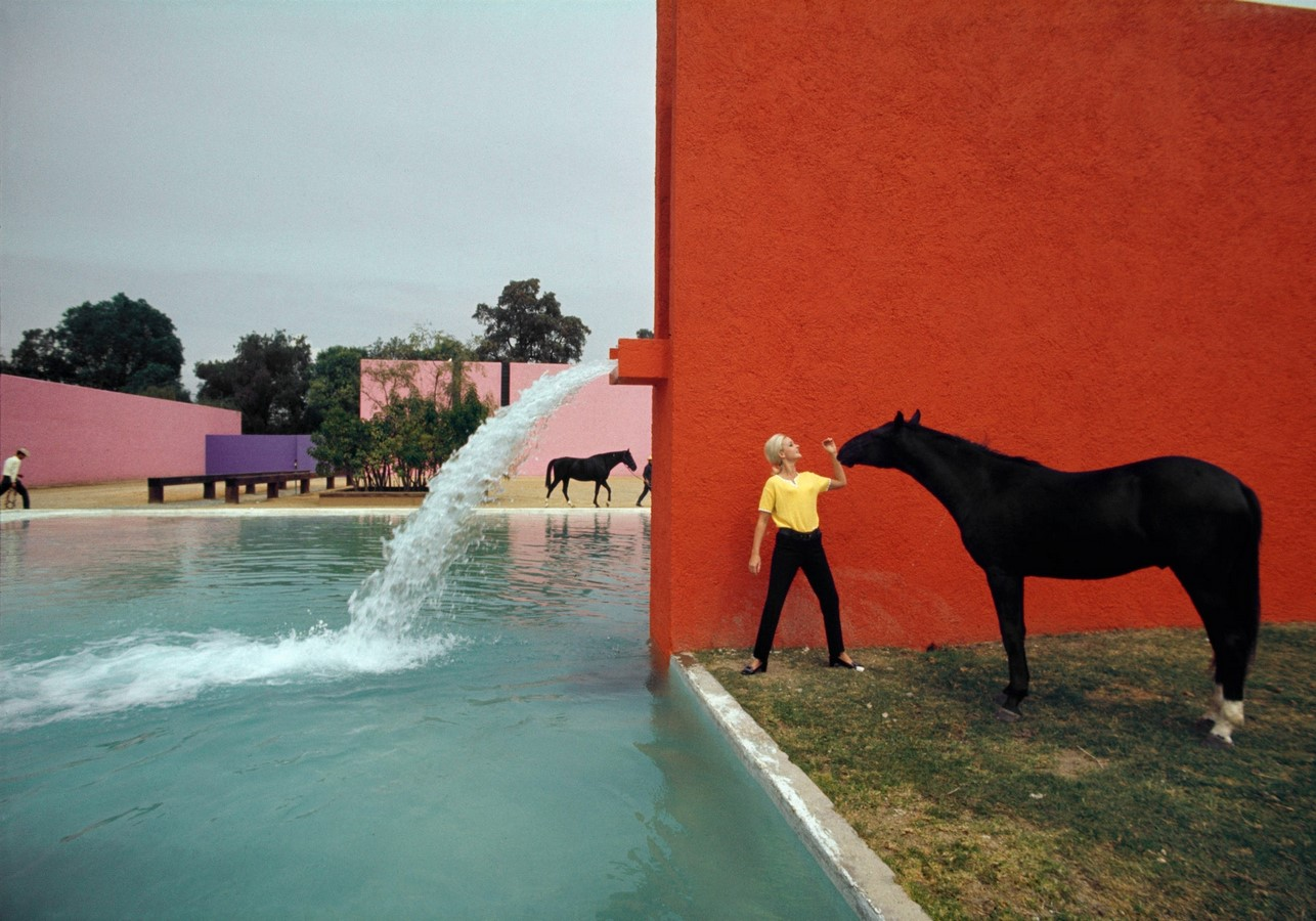 """""""Equestrian Trilogy"""" - Cuadra San Cristóbal, Mexico by Luis Barragán: Geometry, Nature and Architecture - Sheet3"""