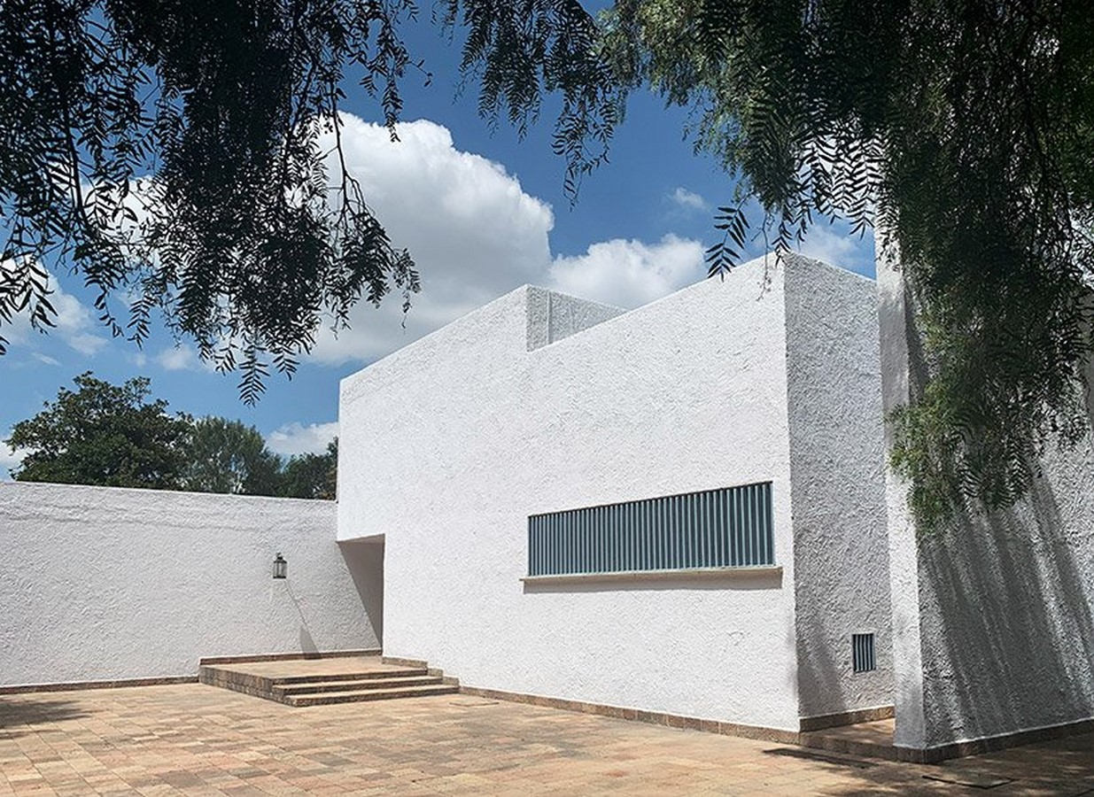 """""""Equestrian Trilogy"""" - Cuadra San Cristóbal, Mexico by Luis Barragán: Geometry, Nature and Architecture - Sheet8"""