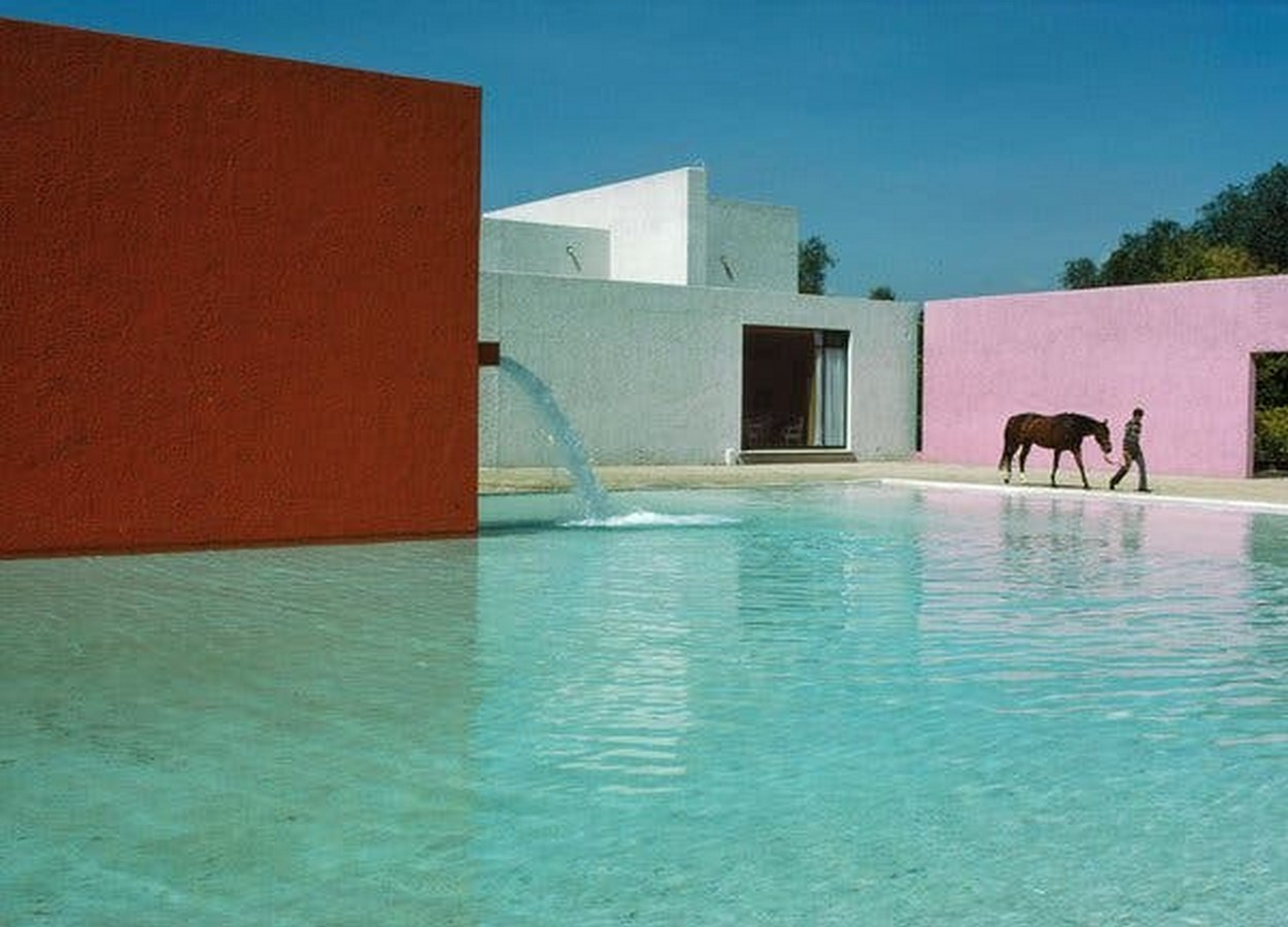 """""""Equestrian Trilogy"""" - Cuadra San Cristóbal, Mexico by Luis Barragán: Geometry, Nature and Architecture - Sheet9"""