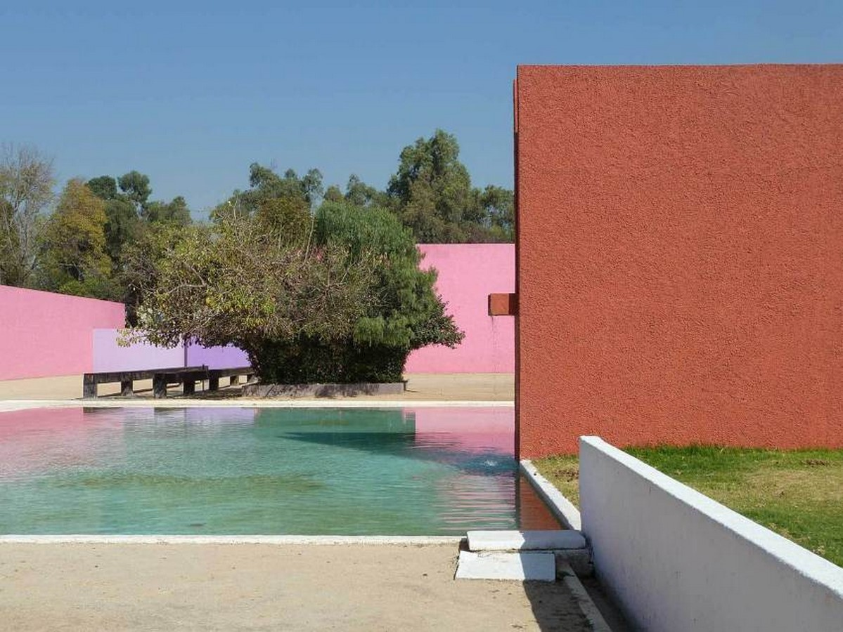 """""""Equestrian Trilogy"""" - Cuadra San Cristóbal, Mexico by Luis Barragán: Geometry, Nature and Architecture - Sheet11"""