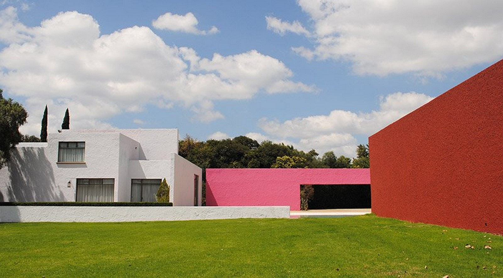 """""""Equestrian Trilogy"""" - Cuadra San Cristóbal, Mexico by Luis Barragán: Geometry, Nature and Architecture - Sheet12"""