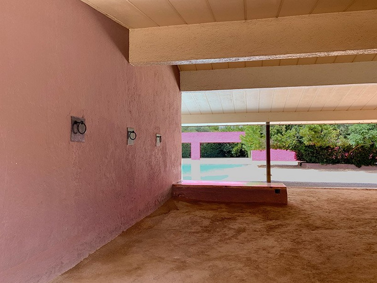 """""""Equestrian Trilogy"""" - Cuadra San Cristóbal, Mexico by Luis Barragán: Geometry, Nature and Architecture - Sheet14"""