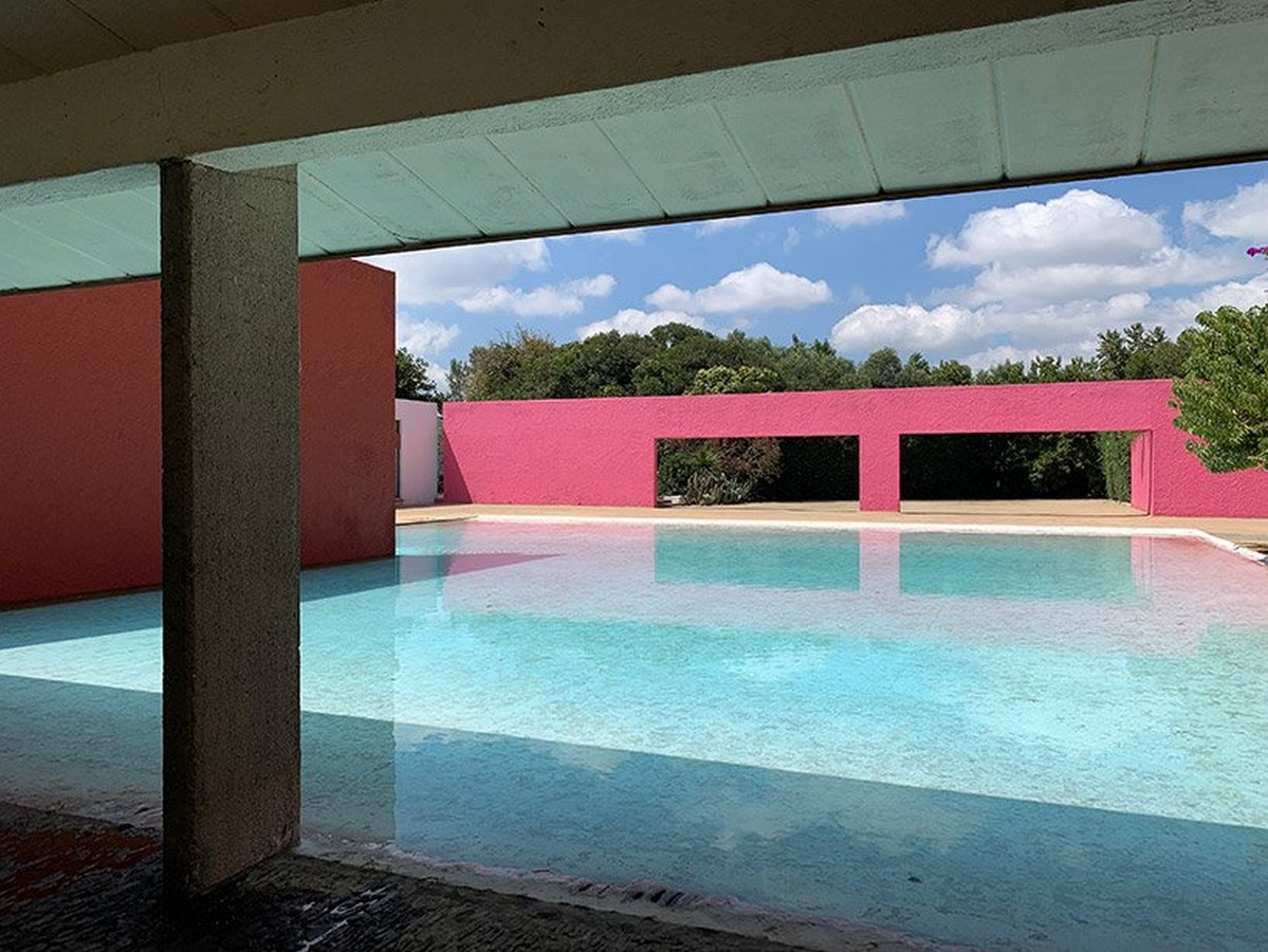 """""""Equestrian Trilogy"""" - Cuadra San Cristóbal, Mexico by Luis Barragán: Geometry, Nature and Architecture - Sheet15"""