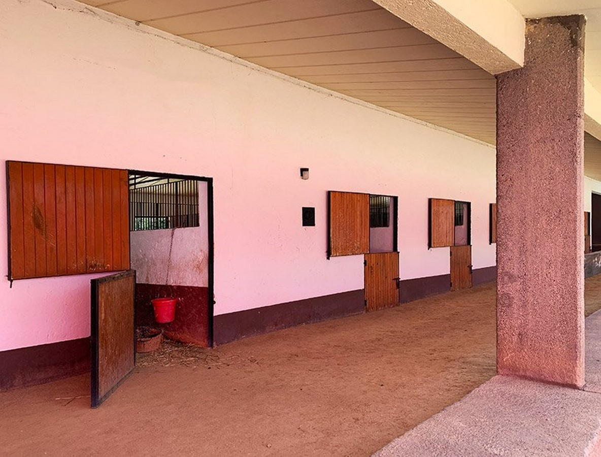 """""""Equestrian Trilogy"""" - Cuadra San Cristóbal, Mexico by Luis Barragán: Geometry, Nature and Architecture - Sheet17"""