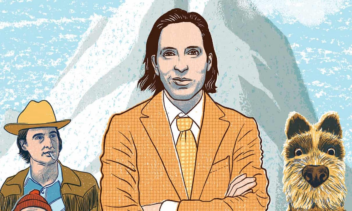 Wes Anderson as an Architect - Sheet1