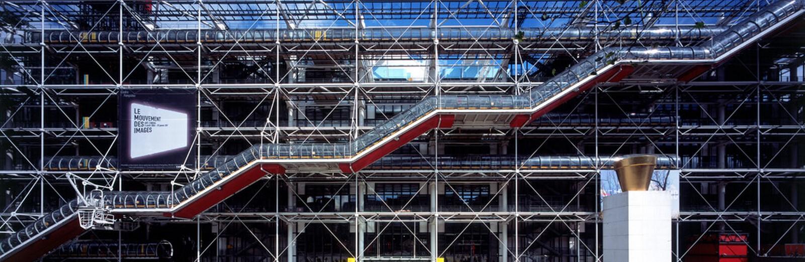 Pompidou Centre byRenzo Piano - Sheet1