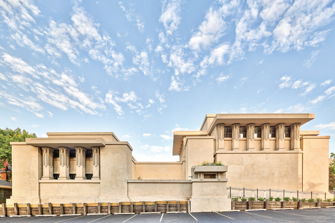 Unity Temple by Frank Lloyd Wright: Concrete Aesthetics - Sheet1