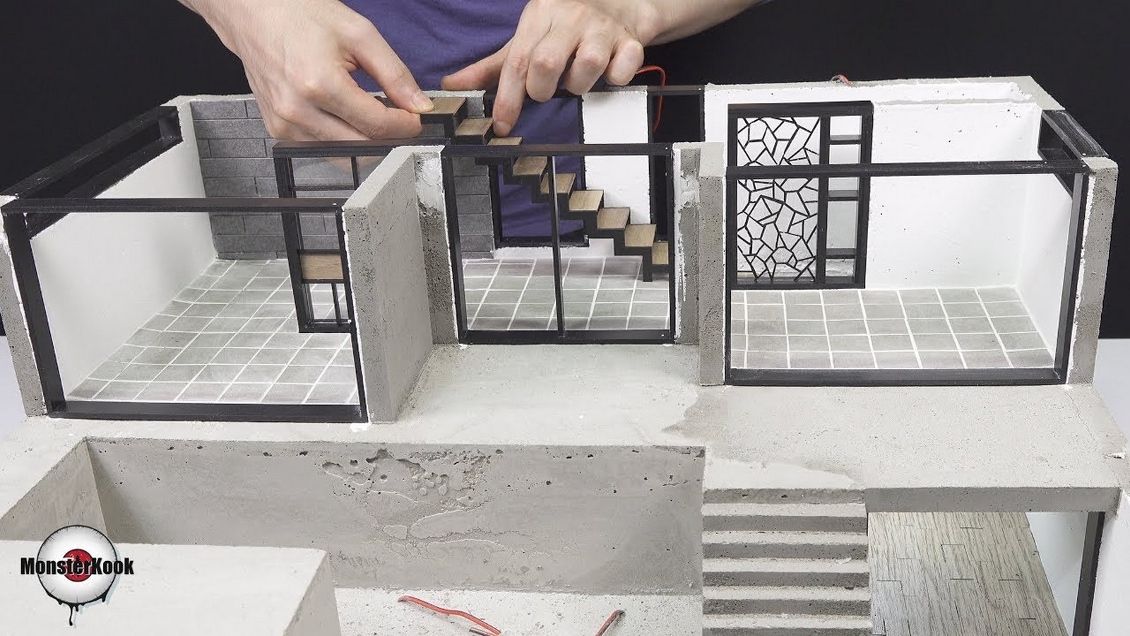 10 youtubers to watch for architectural model making-Monster Kook - Sheet1