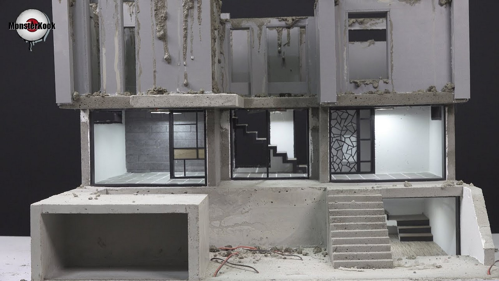 10 youtubers to watch for architectural model making-Monster Kook - Sheet2