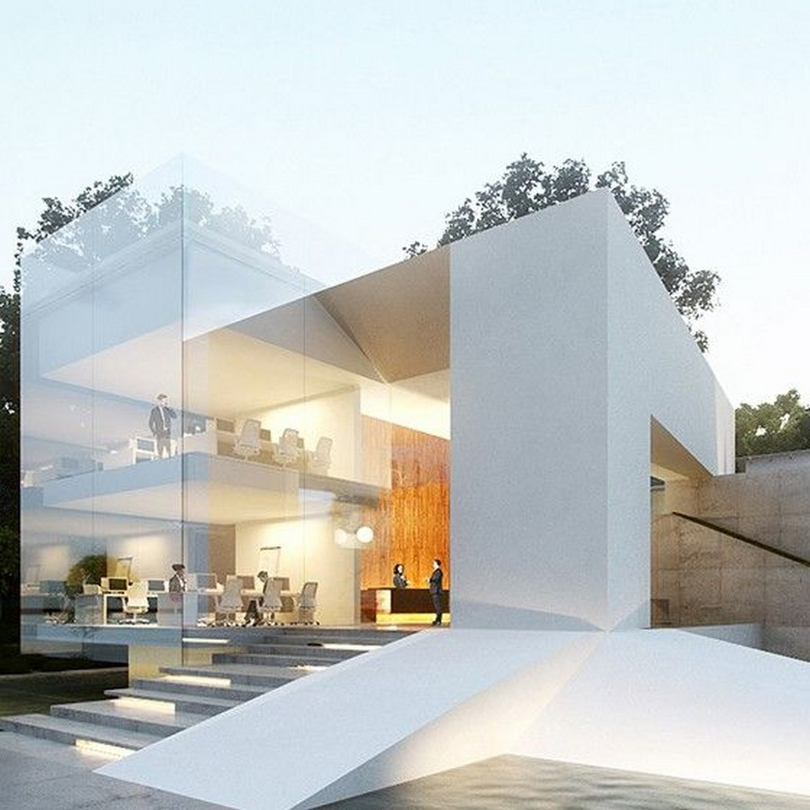 Characteristics of contemporary architecture - Sheet7