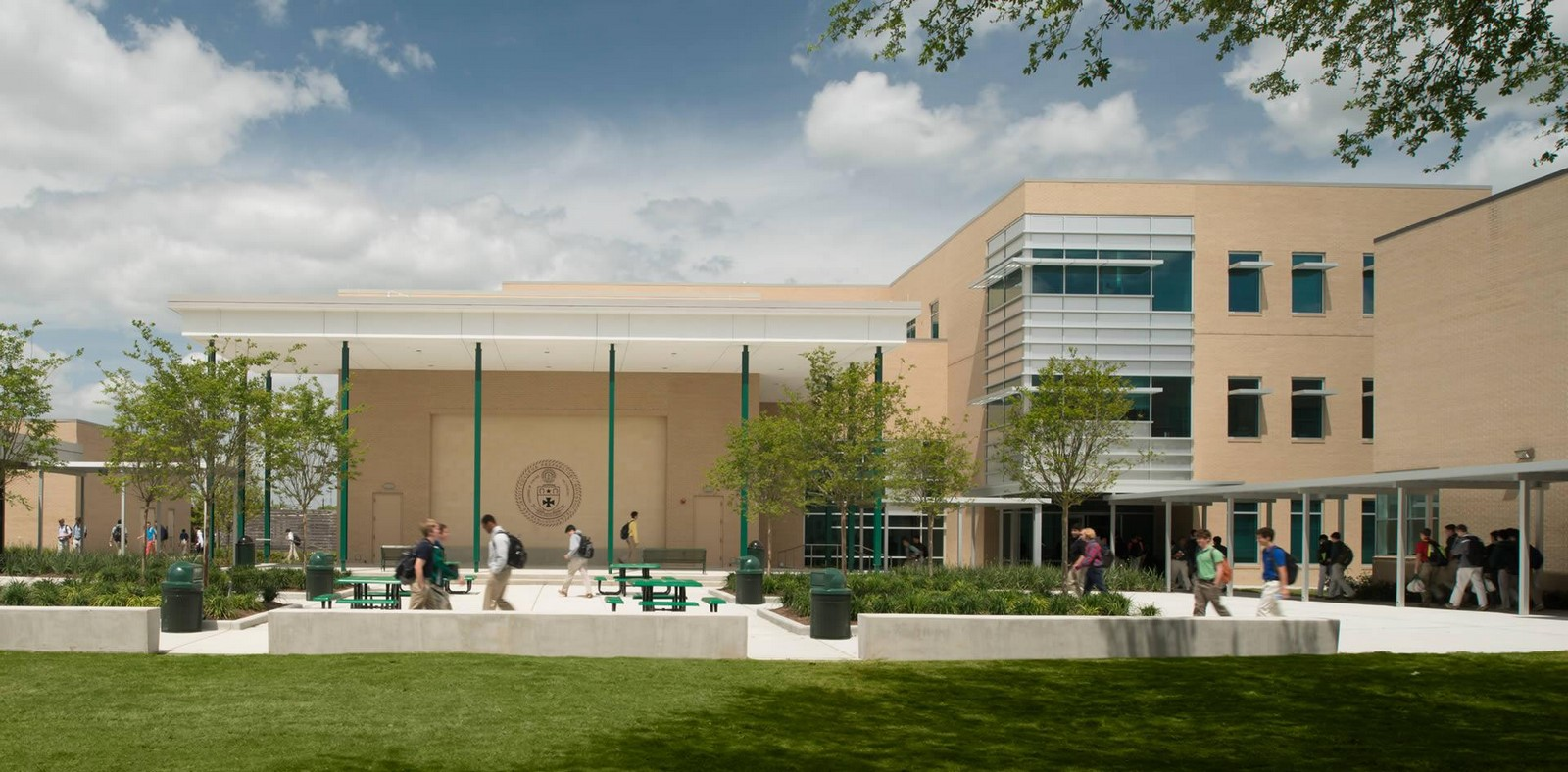 Strake Jesuit College Preparatory STEM Building - Sheet1
