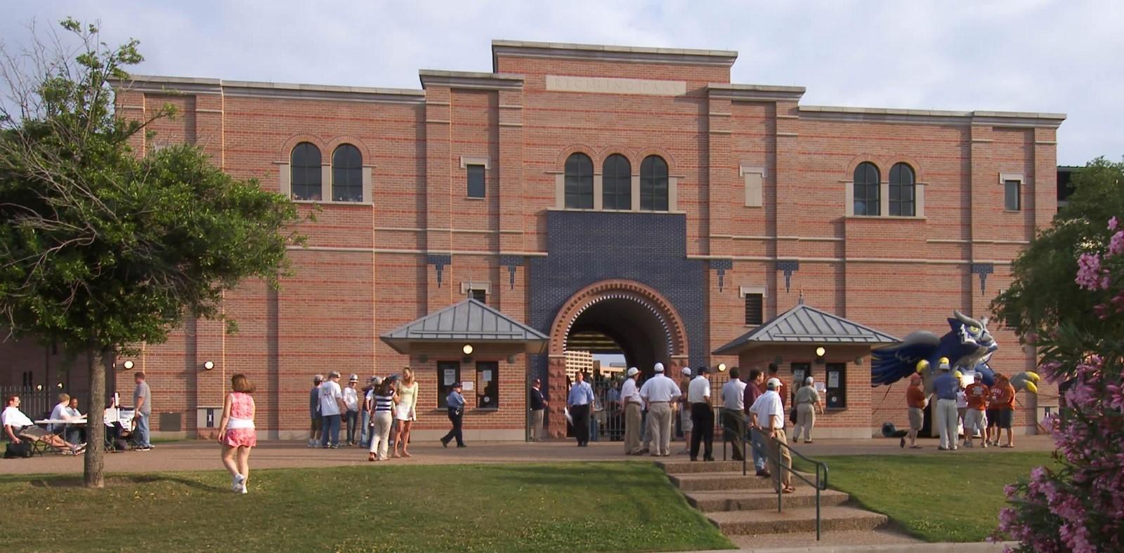 Rice University Reckling Park Baseball Stadium - Sheet2