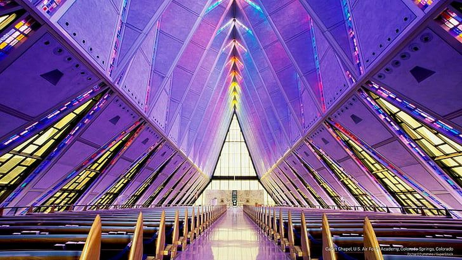 United States Air Force Academy Cadet Chapel by SOM: A Surreal Experience - Sheet3