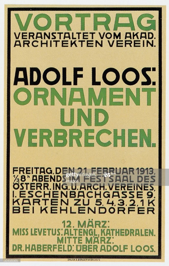 10 things you did not know about Adolf Loos - Sheet7