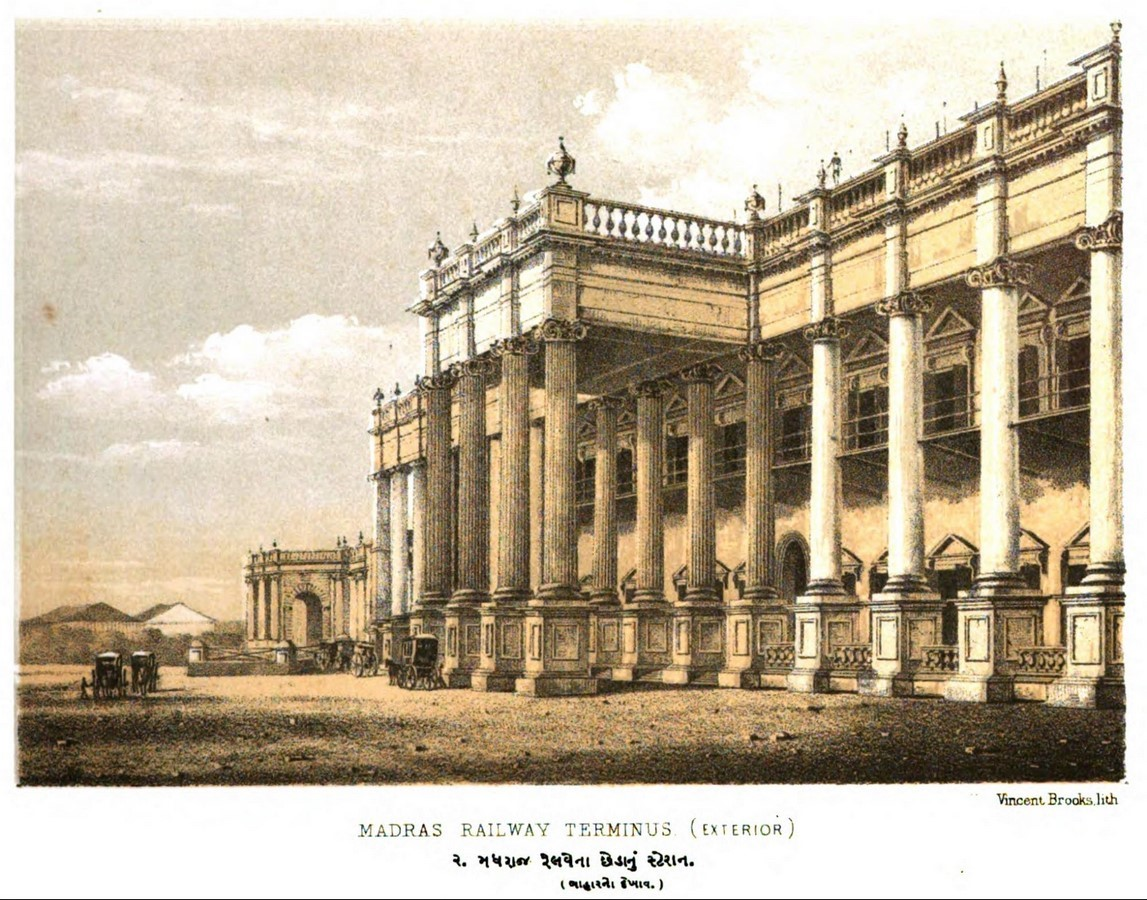 Neoclassical architecture influence in India