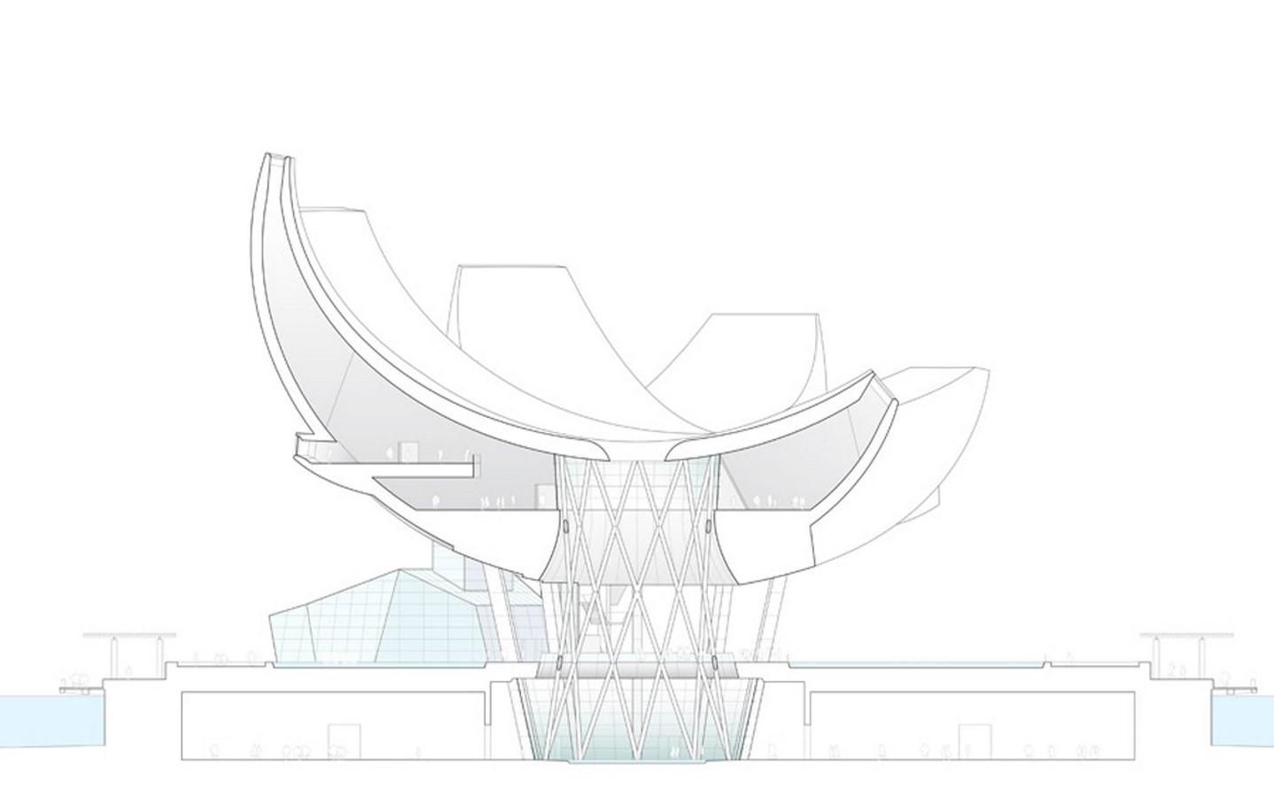 ArtScience Museum by Moshe Safdie: The Welcoming Hand of Singapore- Sheet15