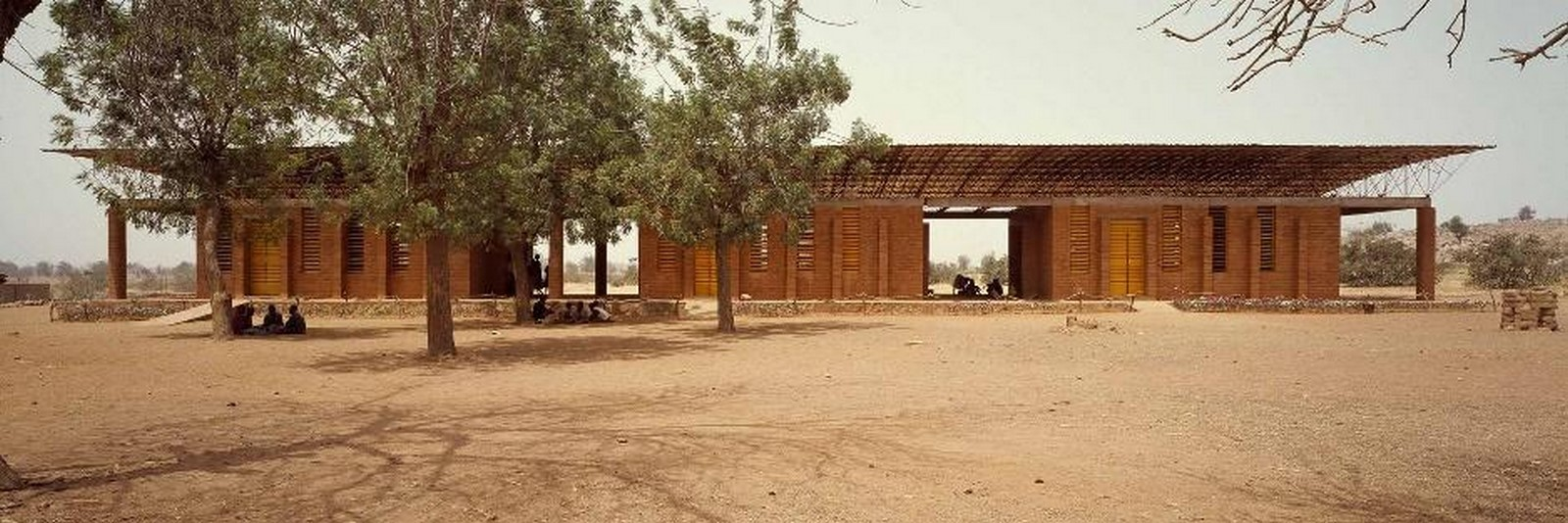 Primary school in Gando by Kere Architecture- Sheet1