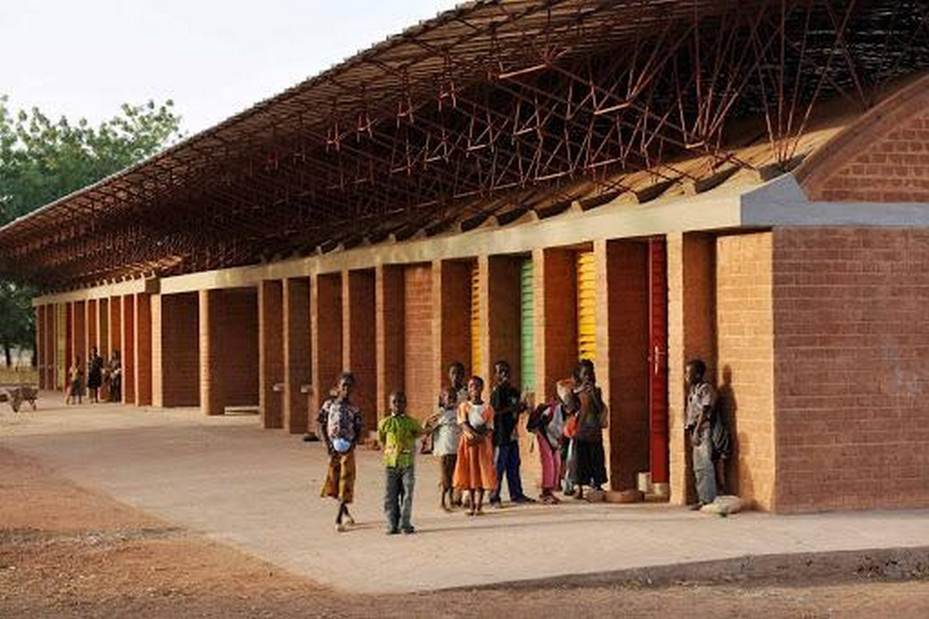 Primary school in Gando by Kere Architecture- Sheet3