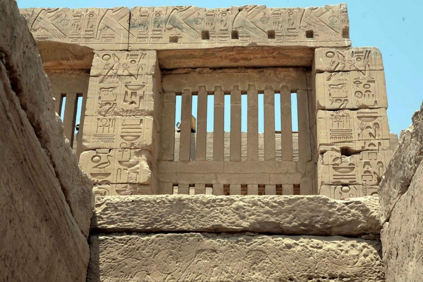 The Clerestory is a chief feature in Ancient Egyptian Architecture - Sheet2