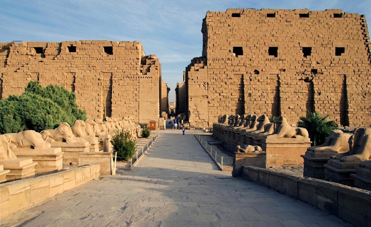 Religion shaped Egyptian Architectural identity - Sheet1