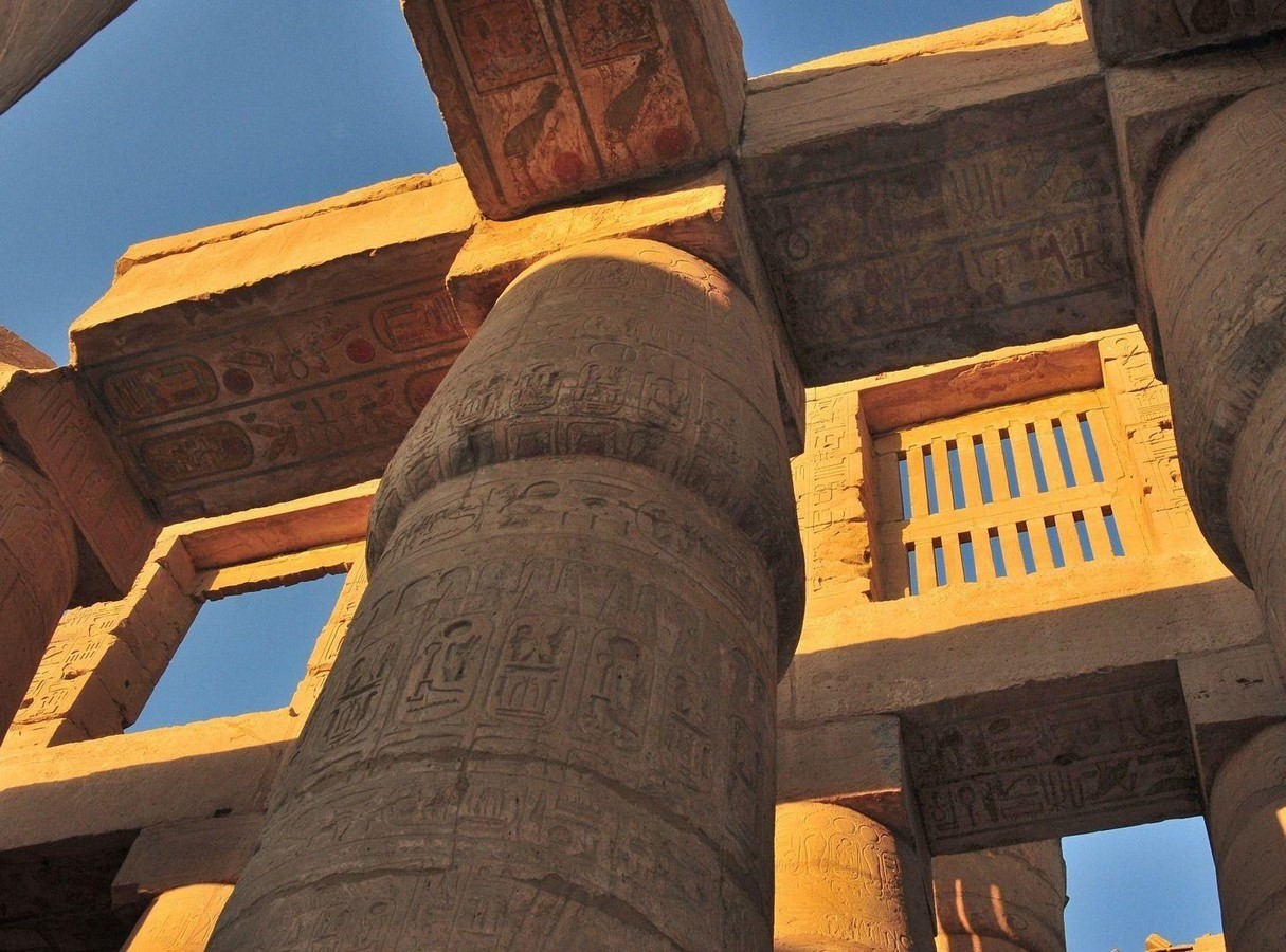 The Clerestory is a chief feature in Ancient Egyptian Architecture - Sheet1