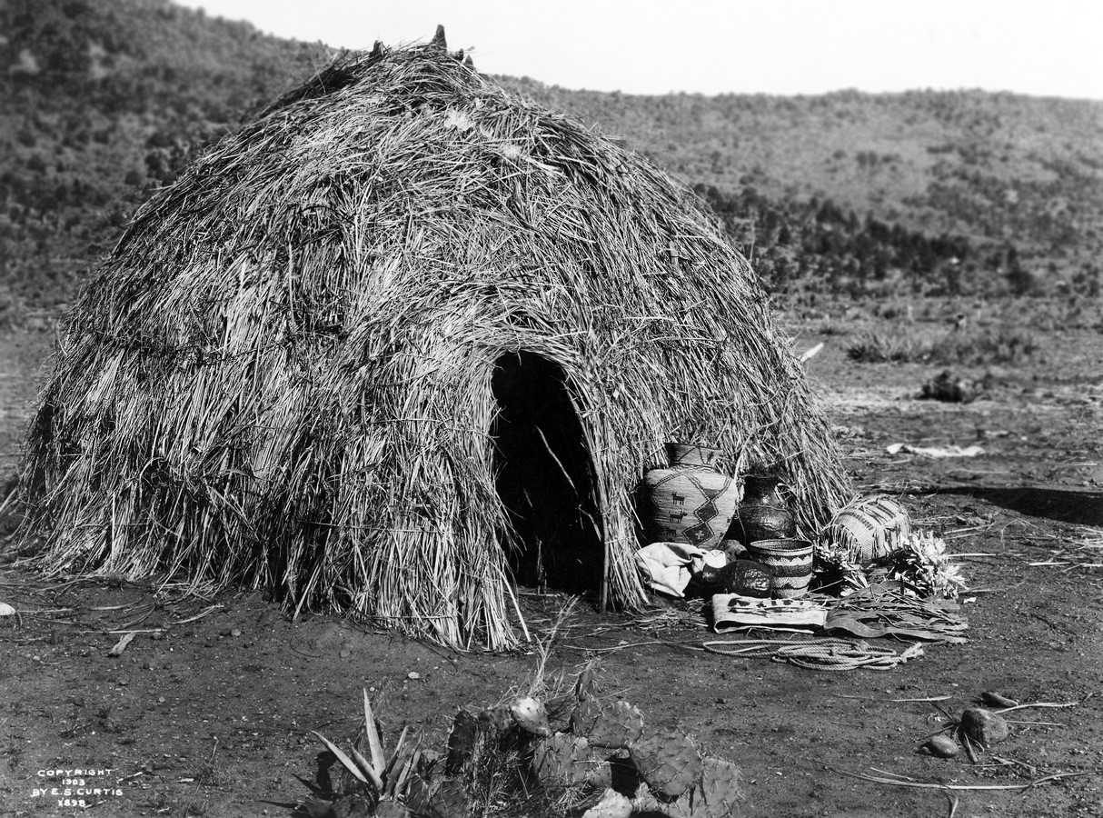 'Wigwam' was the earliest simple dome-like structures that have been documented