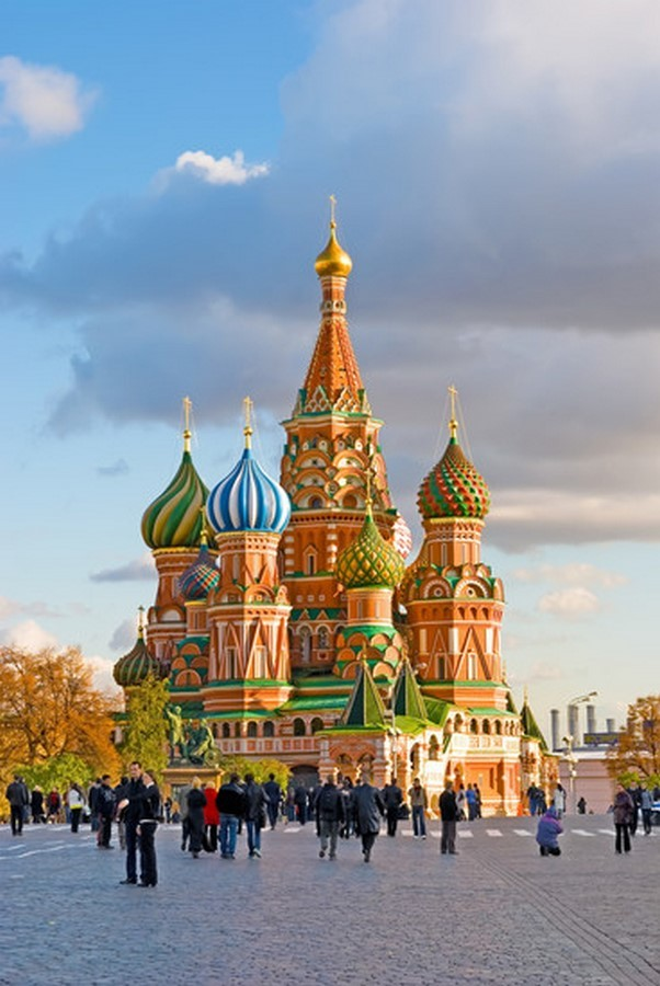 Domes were gilded through gold electroplating for the first time in Moscow - Sheet2