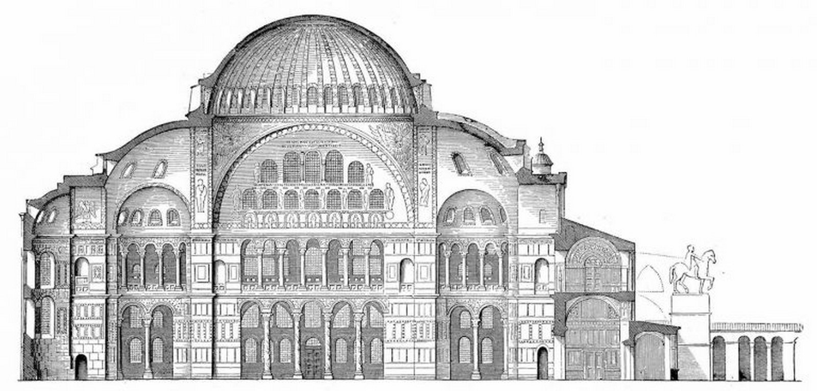 Hagia Sophia is an original design that covers a basilica plan with a dome - Sheet2