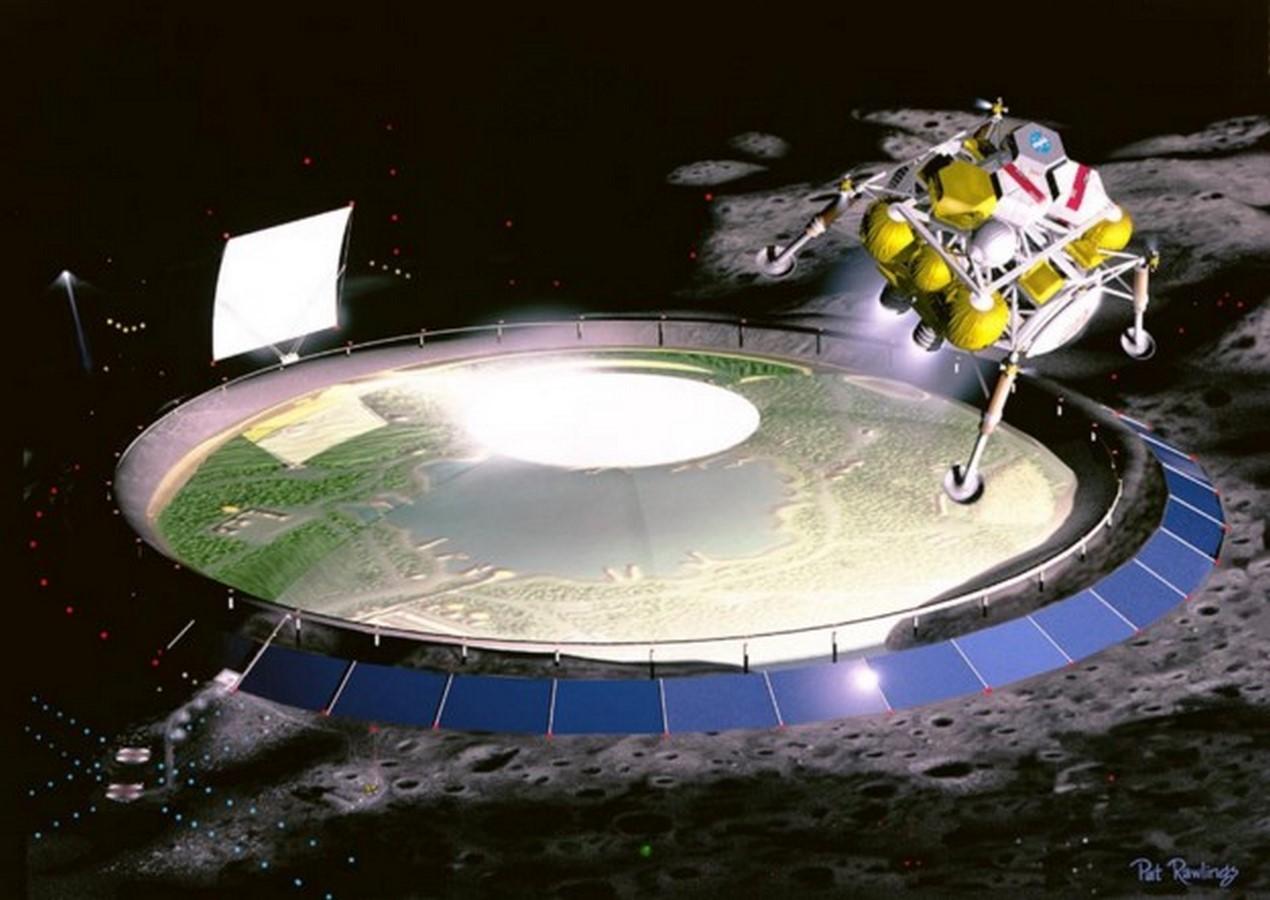 Lunar Dome Colony proposal by NASA - Sheet2
