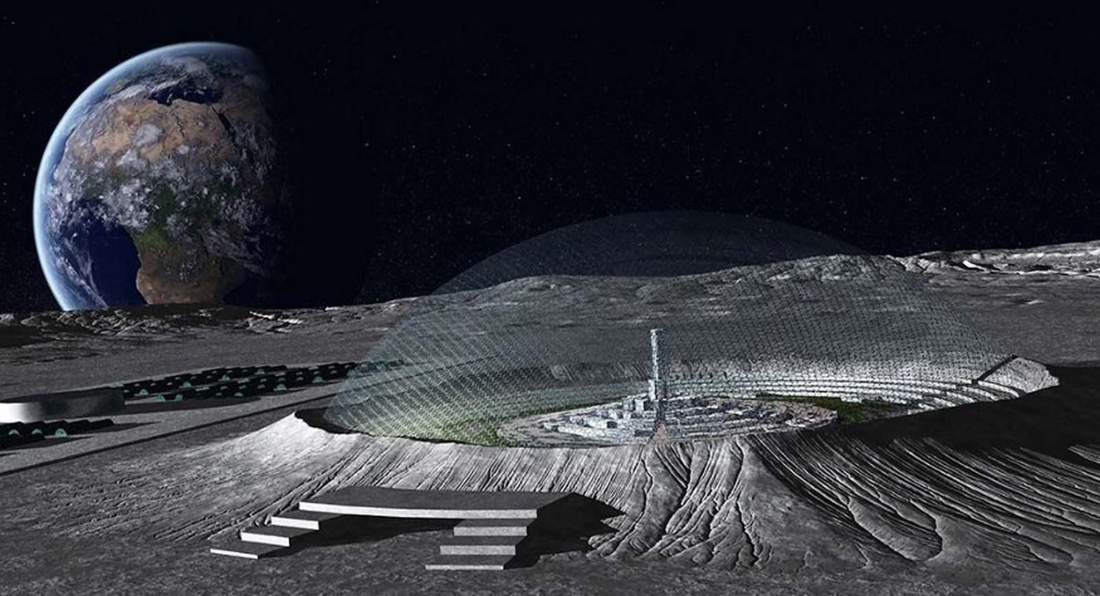 Lunar Dome Colony proposal by NASA - Sheet3