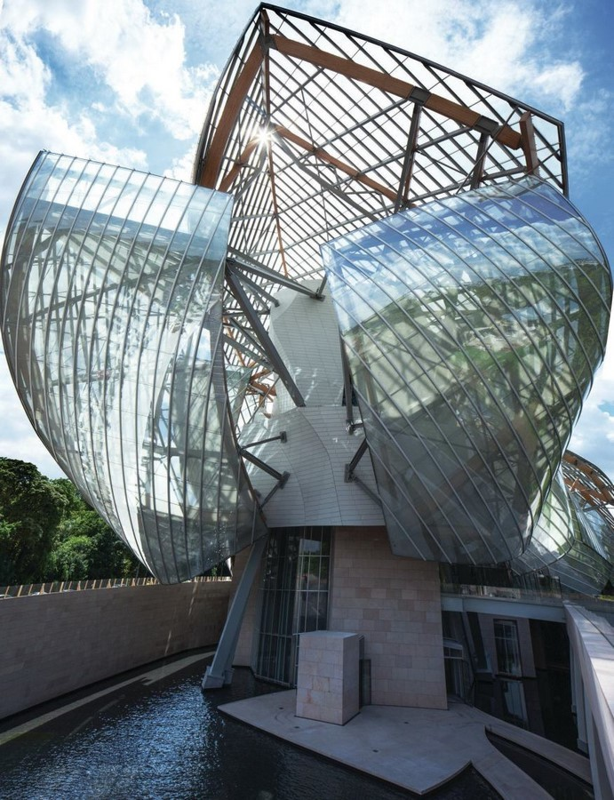Louis Vuitton Foundation by Frank Gehry: Collection of white blocks - Sheet4