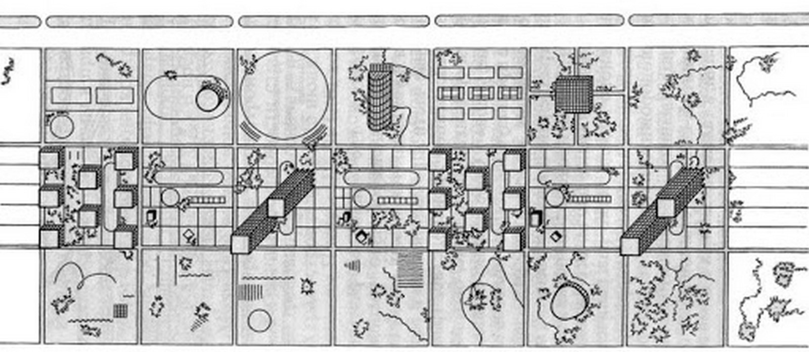 Movie for Architects: An architectural scrim to Sotsgorod: Cities of Utopia, 1995 - Sheet5